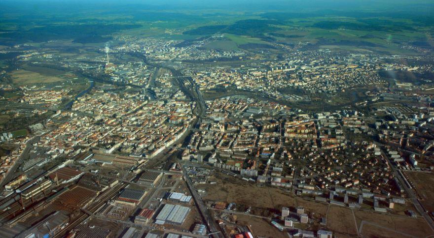 Панорама город Пльзень 2019