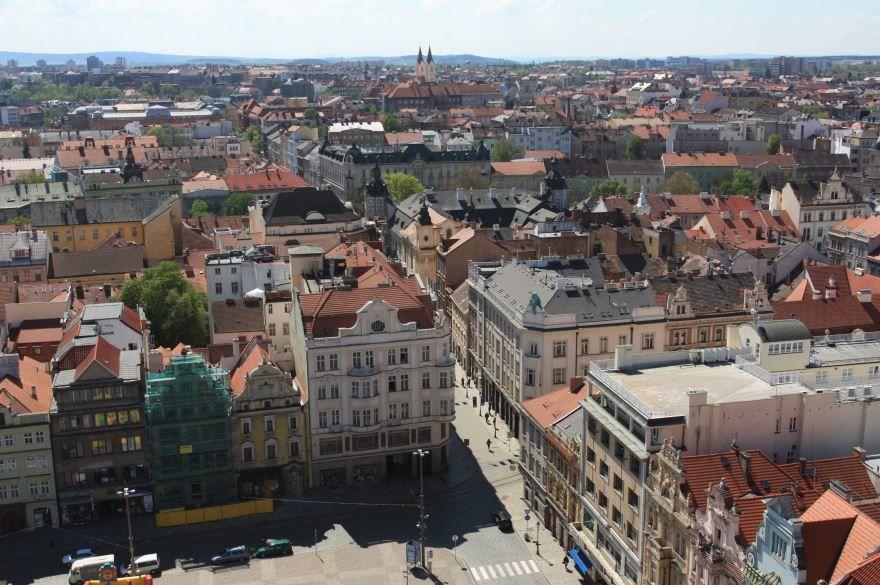 Панорама город Пльзень