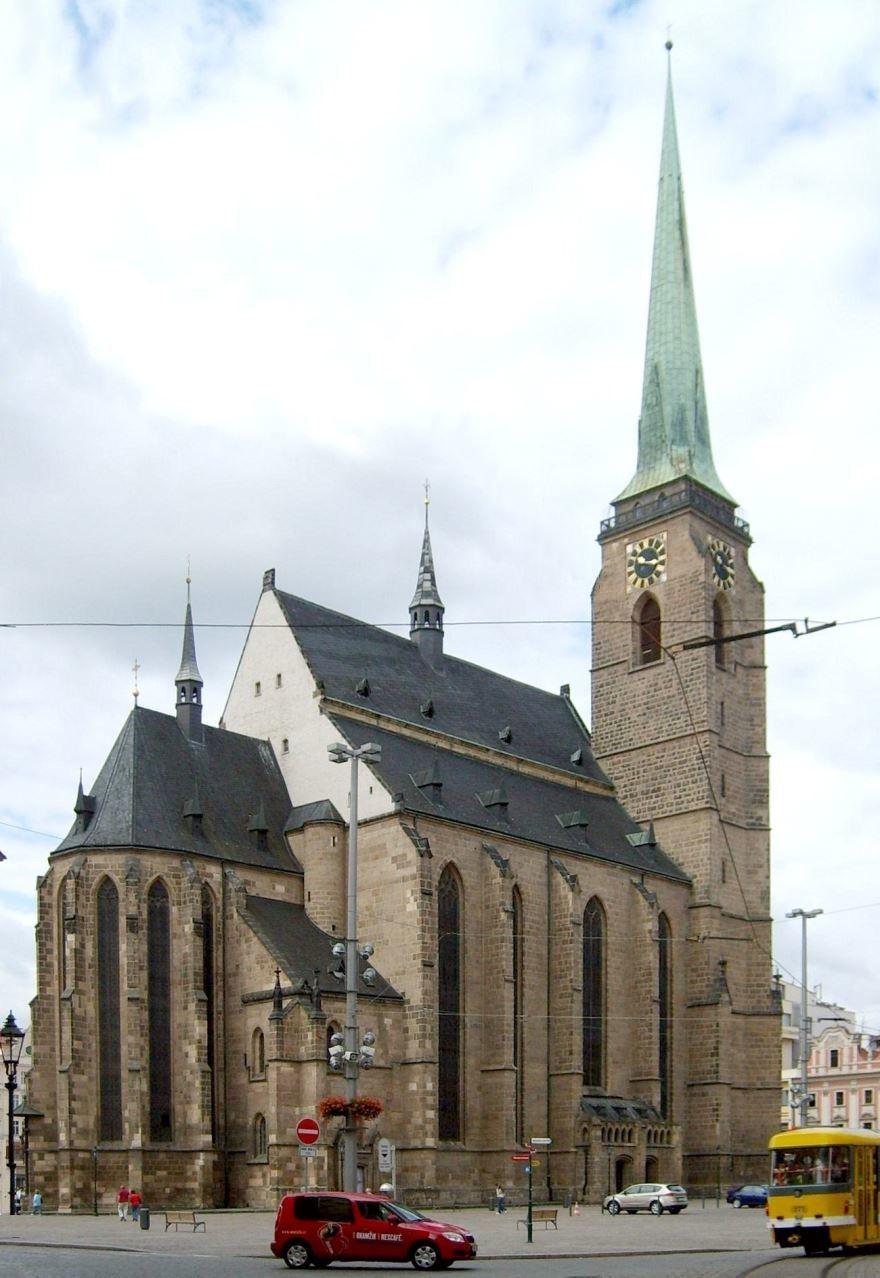 Собор города Пльзень Чехия