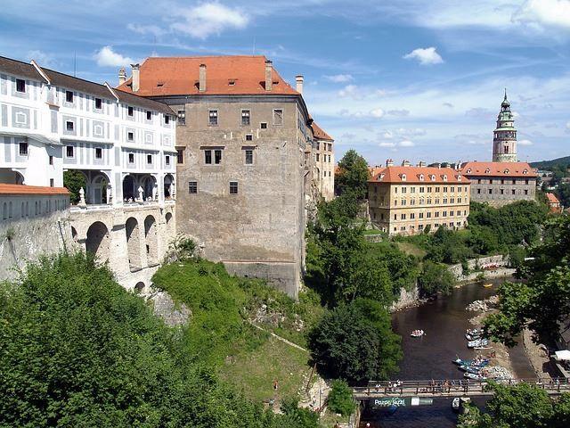 Фото города Чески Крумлов Чехия