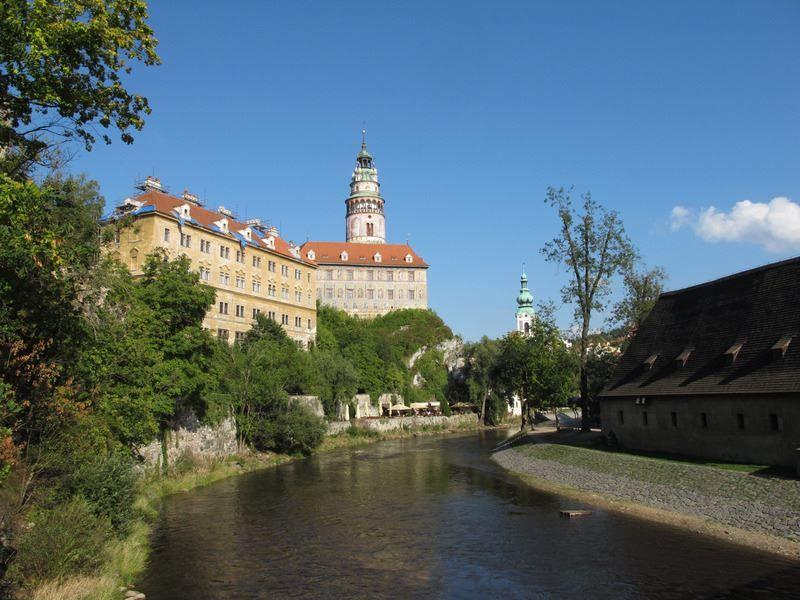 Скачать онлайн бесплатно лучшее фото город Чески Крумлов в хорошем качестве