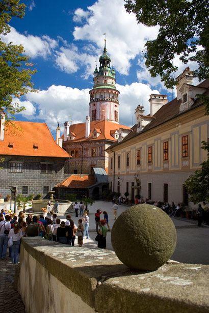 Смотреть красивое фото город Чески Крумлов