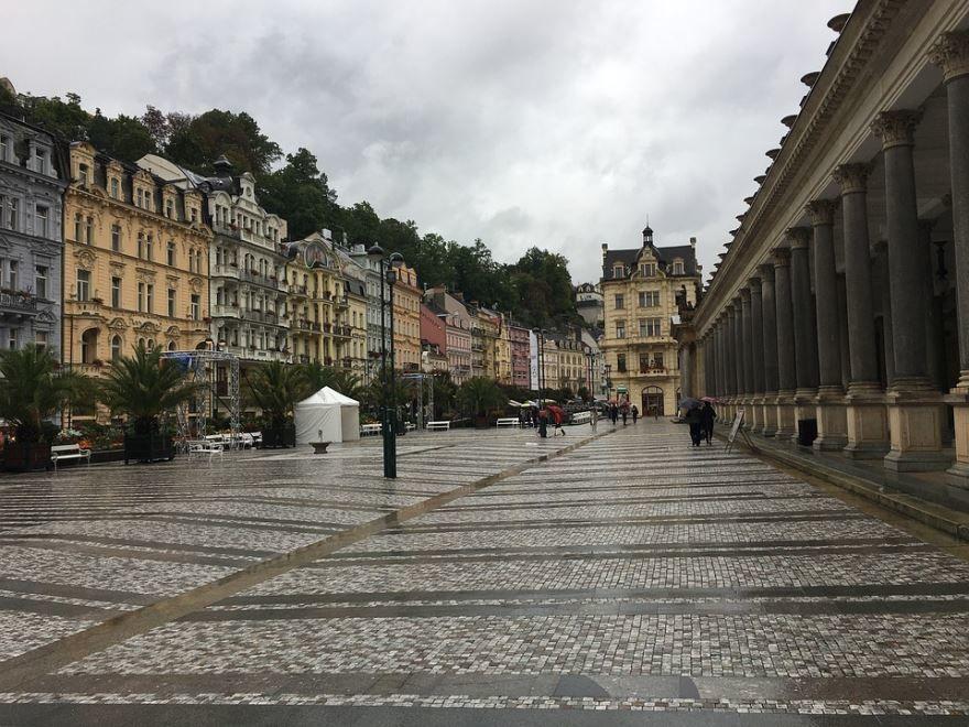 Улица город Карловы Вары 2019