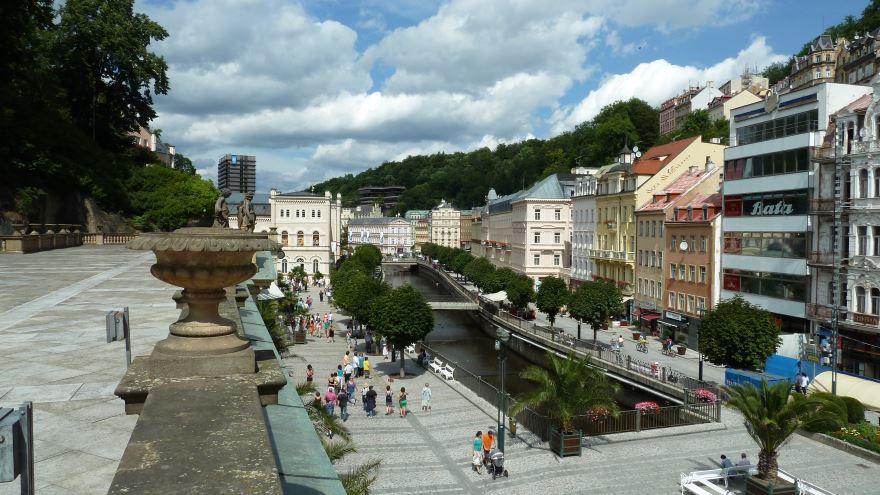 Фото города Карловы Вары Чехия