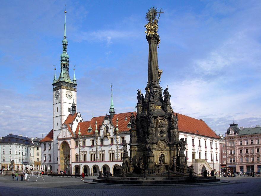 Смотреть красивое фото город Оломоуц