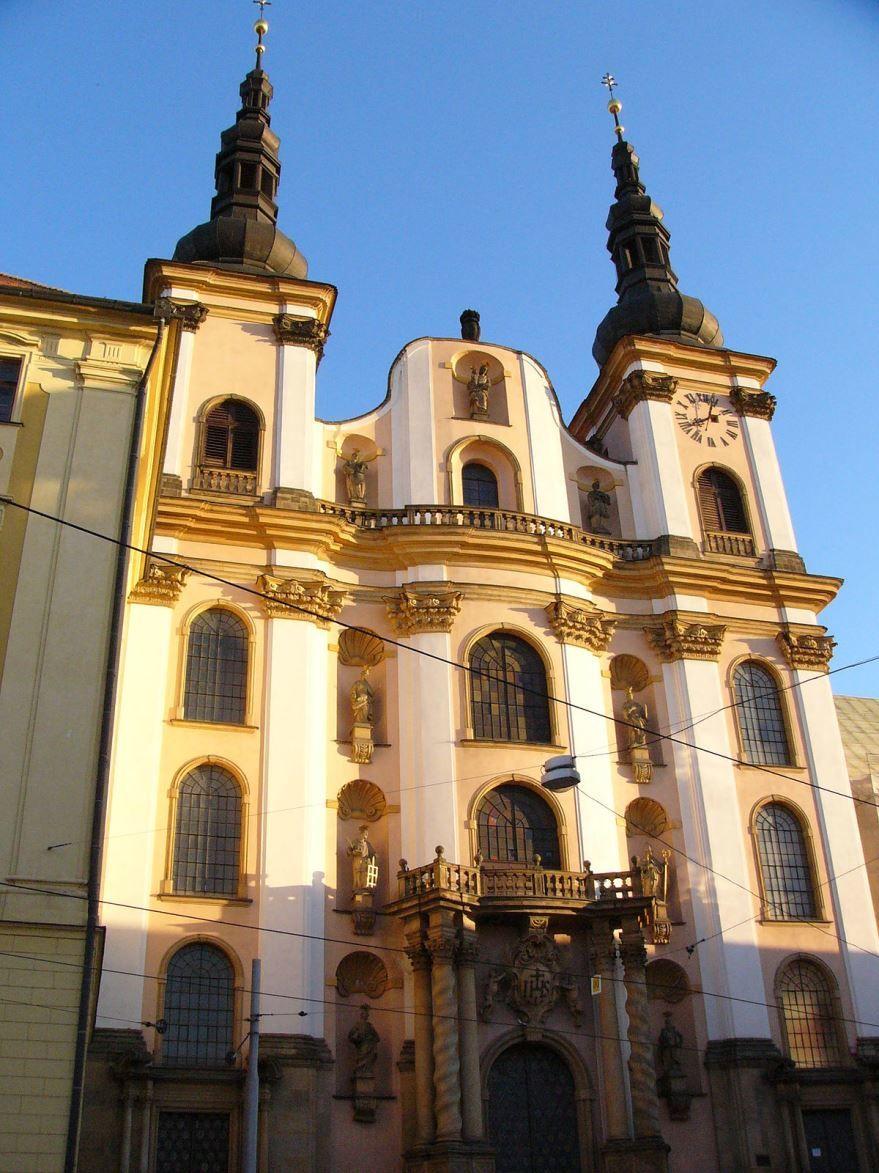 Собор города Оломоуц Чехия