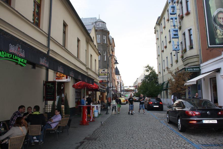 Улица города Острава Чехия