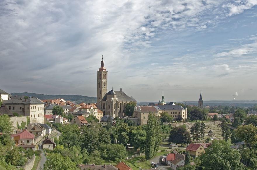 Скачать онлайн бесплатно лучшее фото город Кутна гора в хорошем качестве