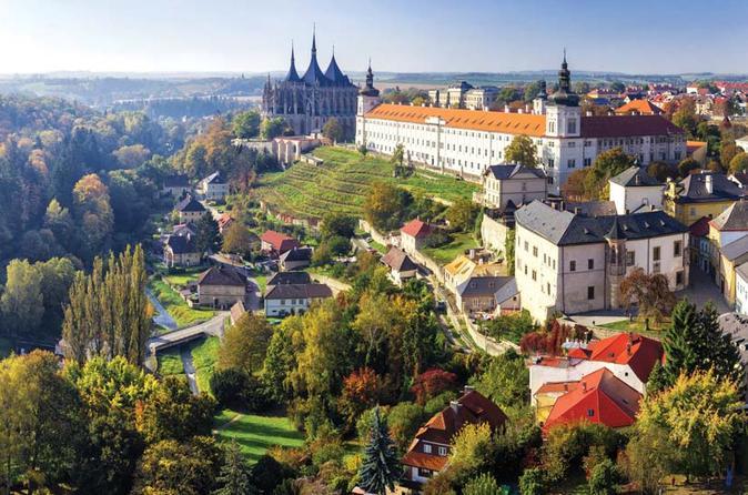 Панорама город Кутна гора Чехия