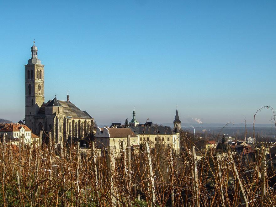 Фото города Кутна гора Чехия