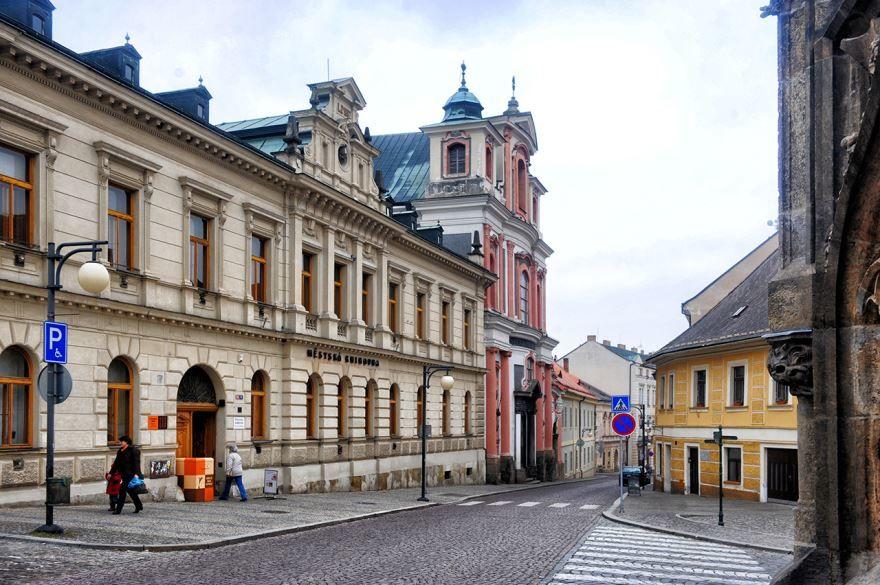 Улица город Кутна гора Чехия