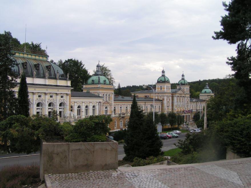 Фото города Марианске-Лазне Чехия