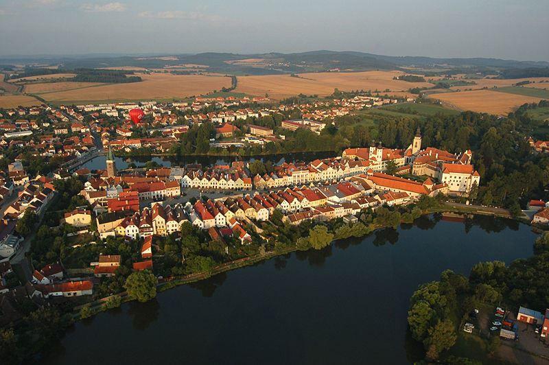 Фото города Тельч Чехия