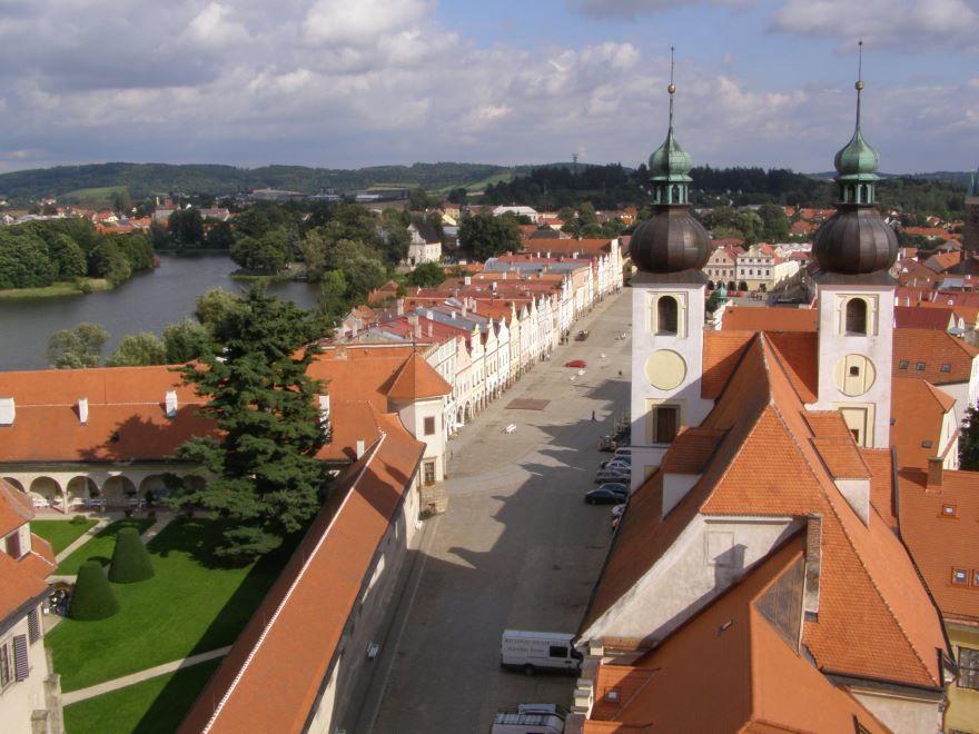 Панорама город Тельч 2019