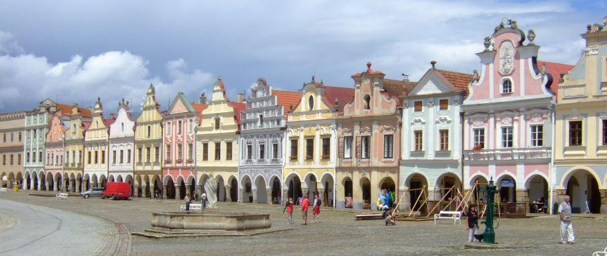Скачать онлайн бесплатно лучшее фото город Тельч в хорошем качестве