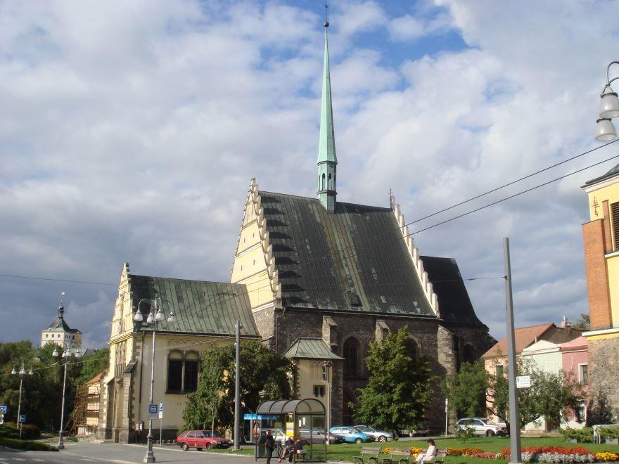 Улица город Пардубице