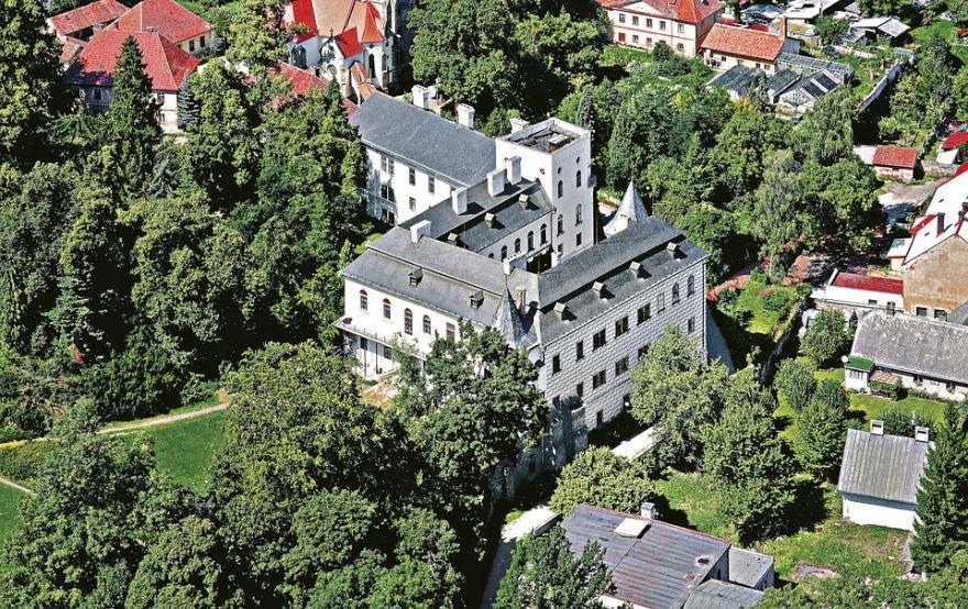 Замок город Пардубице