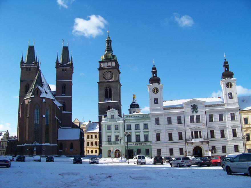 Скачать онлайн бесплатно лучшее фото город Градец-Кралове в хорошем качестве