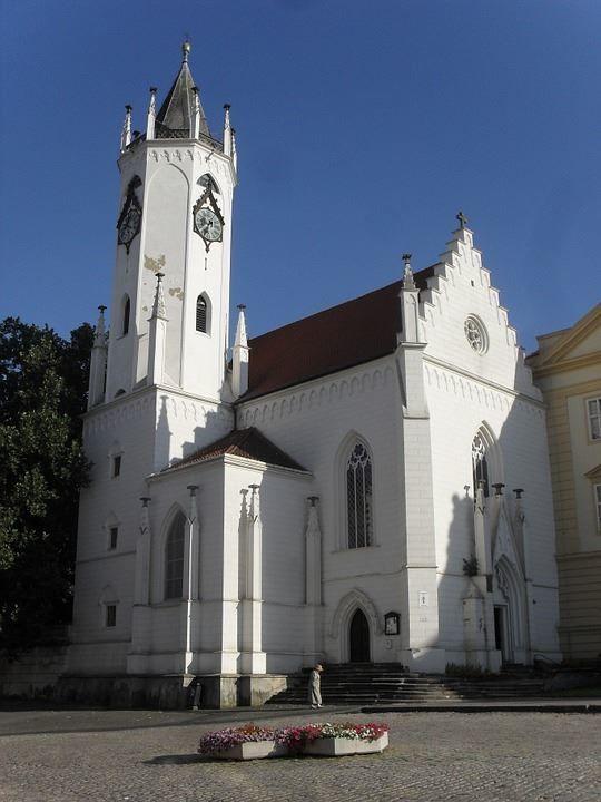 Церковь город Теплице Чехия