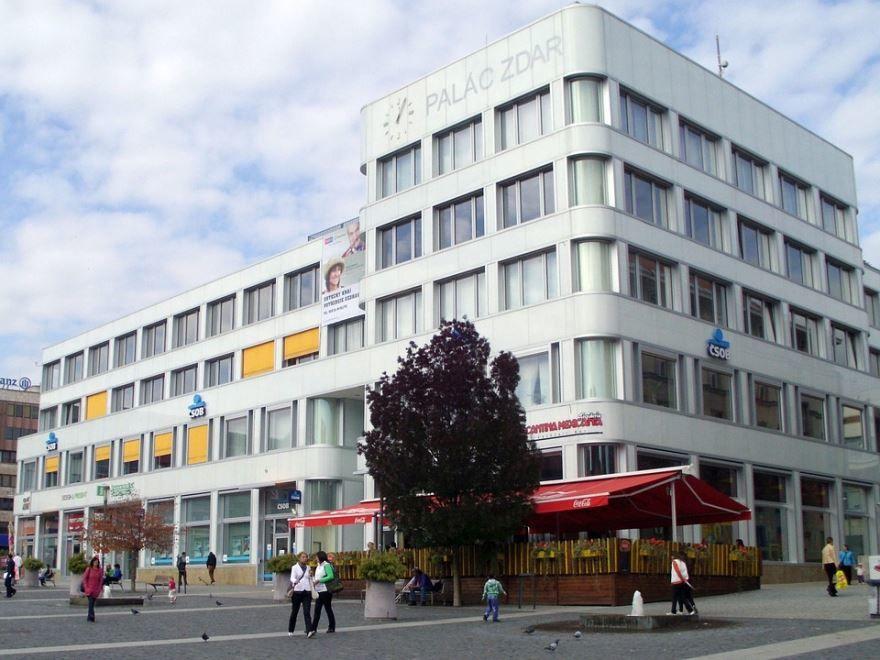 Улица город Усти-над-Лабем Чехия