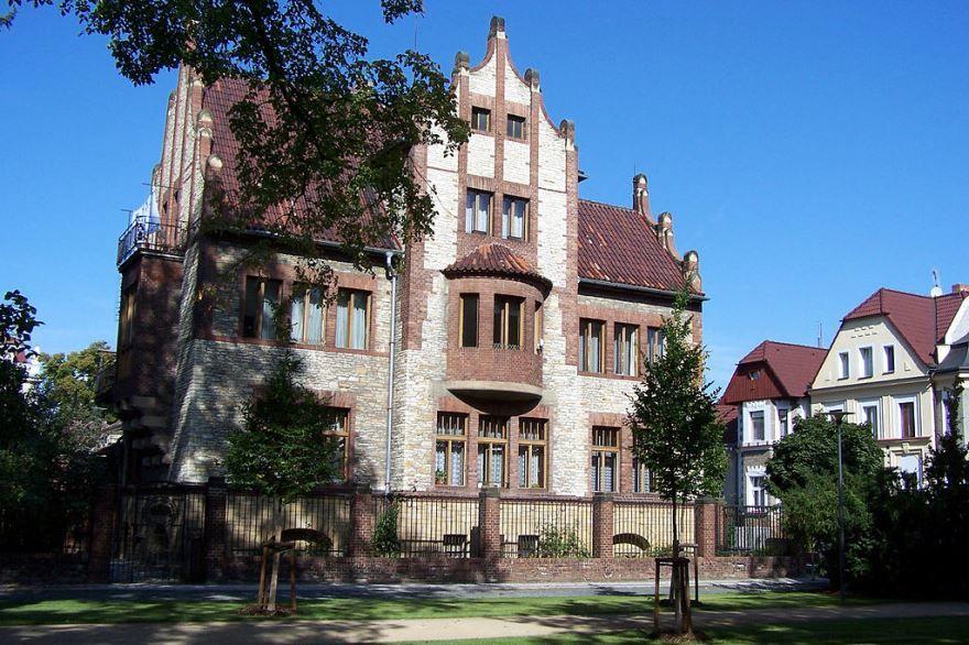 Фото города Подебрады Чехия