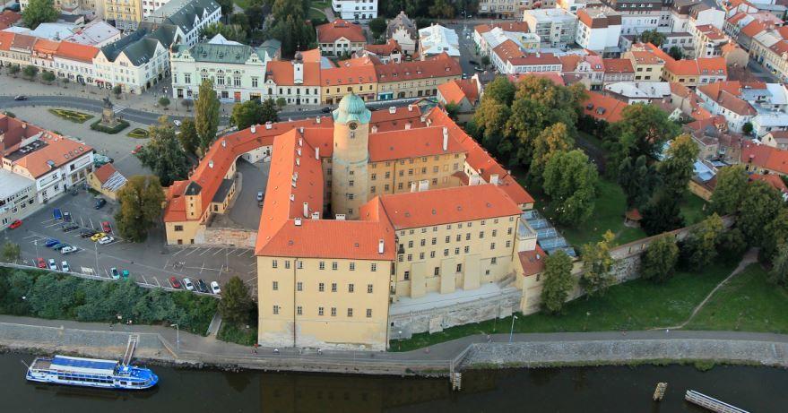 Замок город Подебрады