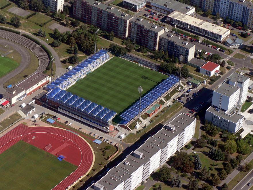 Стадион города Млада-Болеслав 2019