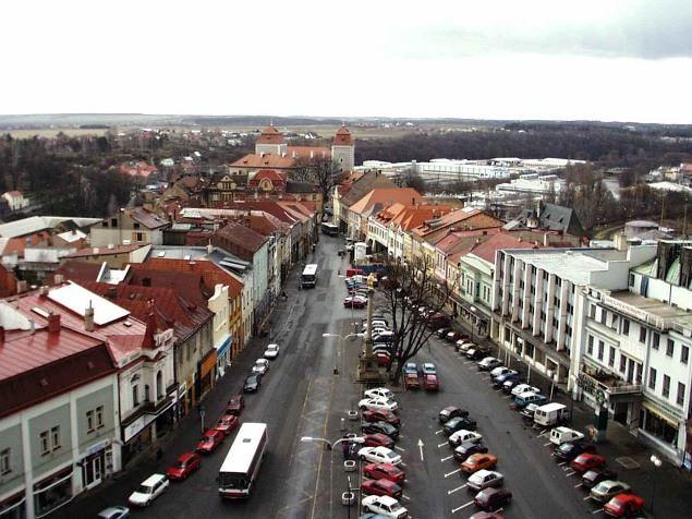 Улица города Млада-Болеслав