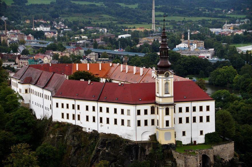 Город Дечин Чехия