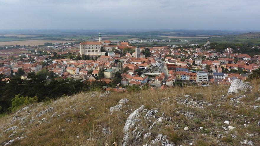 Фото города Микулов Чехия