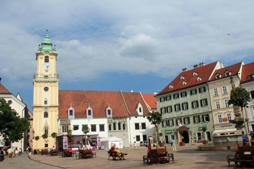 Фото города Братислава Словакия