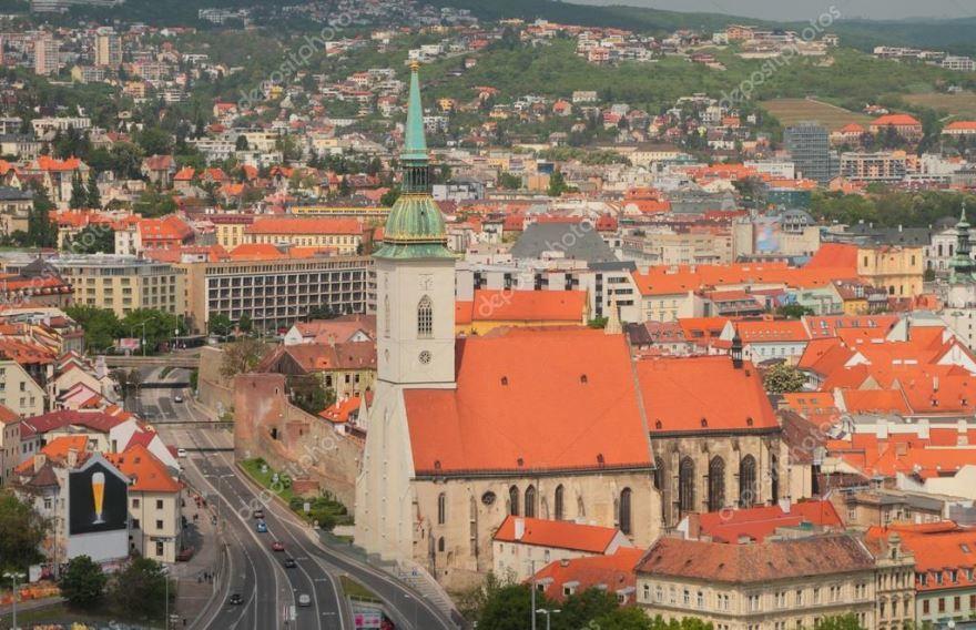 Собор город Братислава Словакия