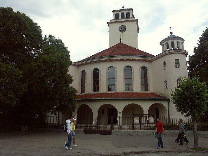 Евангелическая церковь город Трнава