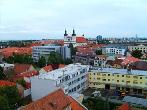 Панорама город Трнава