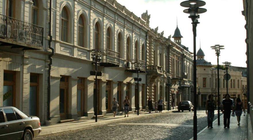 Улица город Кутаиси