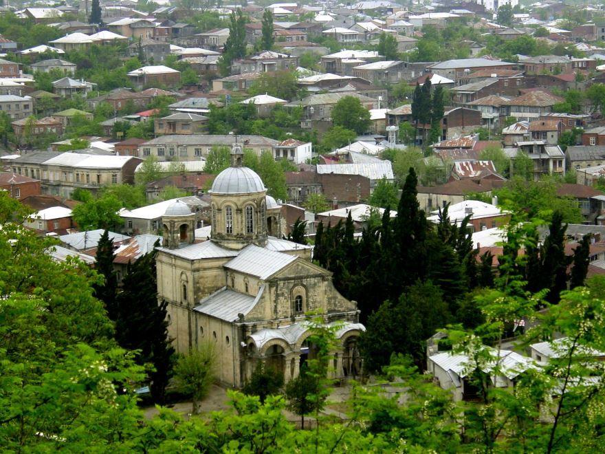 Вид на город Кутаиси