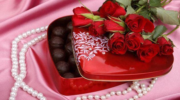 Подарок девушке на день Святого Валентина