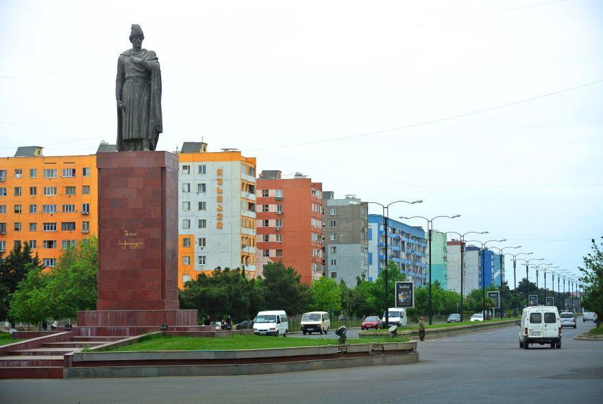 Достопримечательности город Рустави