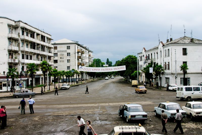 Смотреть красивое фото город Кобулети