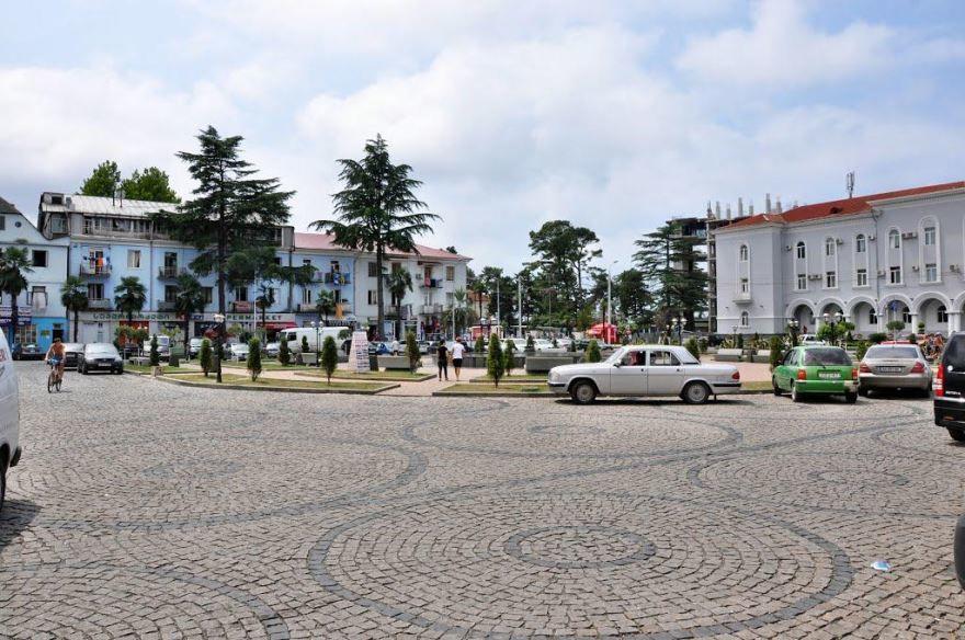 Фото города Кобулети Грузия