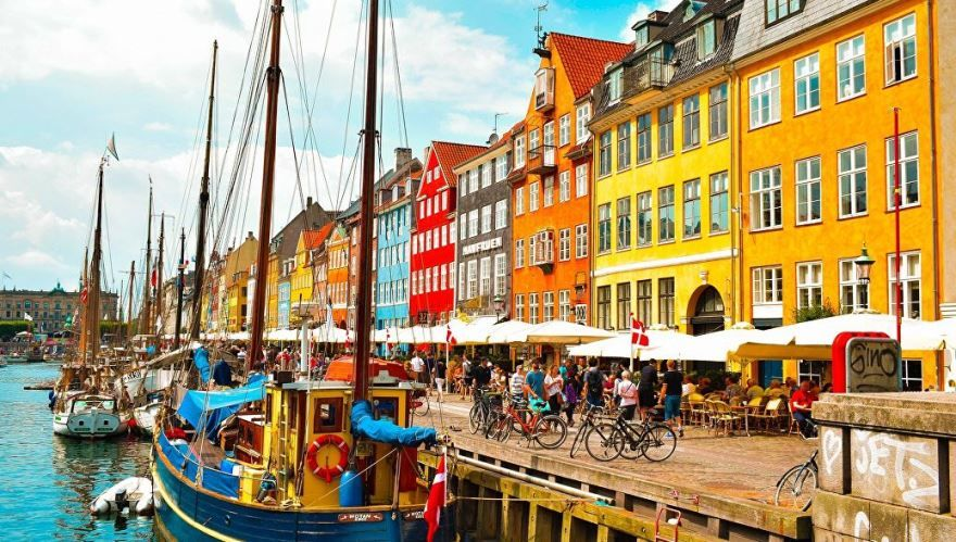 Фото города Копенгаген Дания