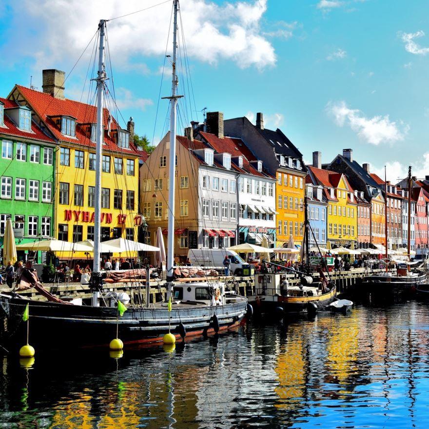 Смотреть красивое фото город Копенгаген