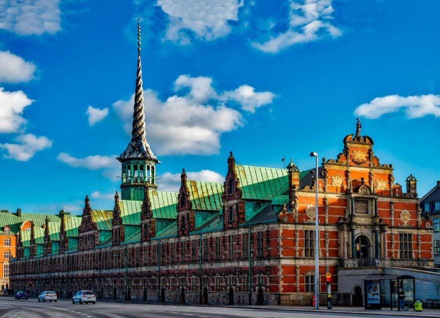 Архитектура город Копенгаген
