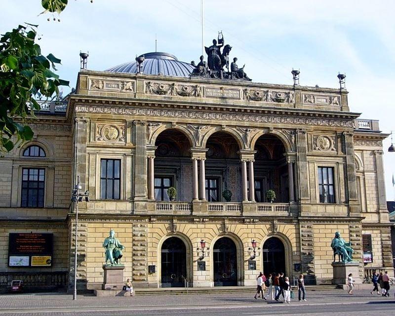 Королевский театр Дании город Копенгаген