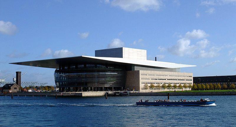 Оперный театр город Копенгаген