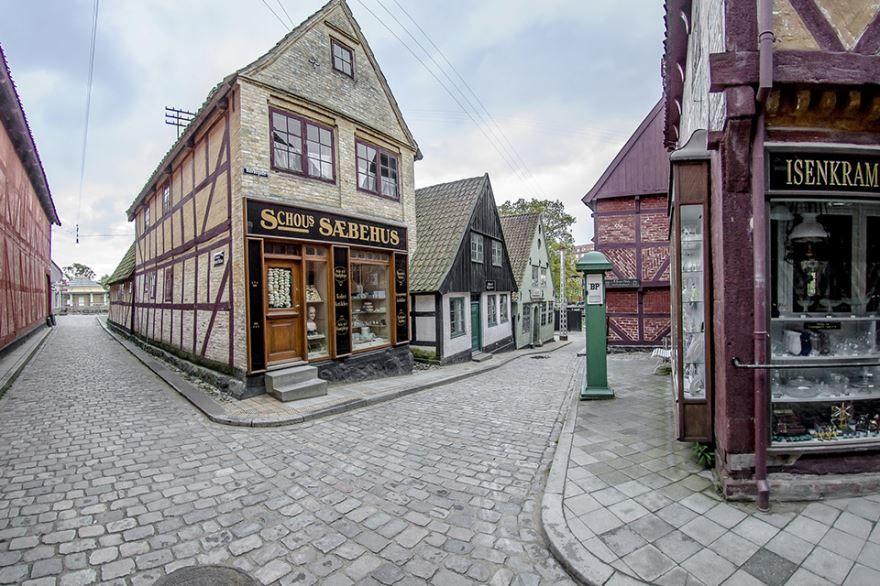 Улица город Орхус