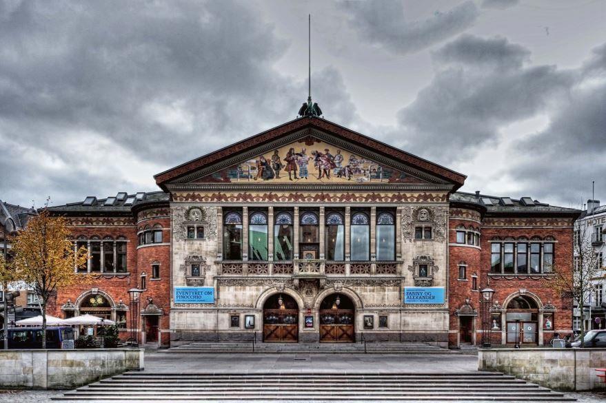 Театр города Орхус Дания