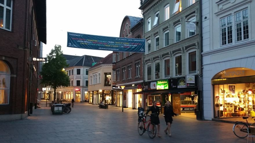 Скачать онлайн бесплатно лучшее фото город Оденсе в хорошем качестве
