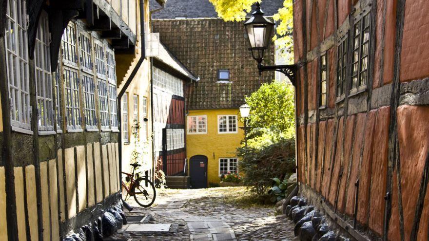 Старый город Кольдинг Дания