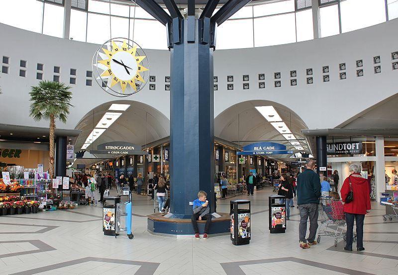 Торговый центр город Кольдинг Дания